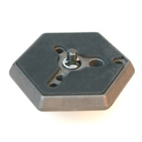 "Manfrotto 030 1/4"" Hex plate"