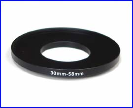 Step Up Ring 30-58mm