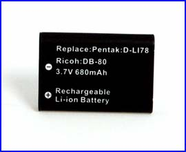 INCA Battery for Nikon Pentax EN-EL11 D-LI78 DB-80