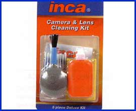 Inca Lens Cleaning Kit - Deluxe