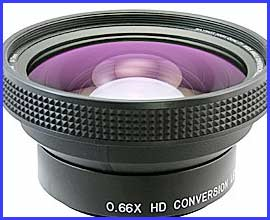 Raynox DCR-6600PRO 0.66x Wide Angle Pro Lens