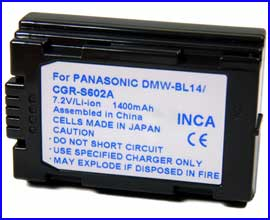 Battery for PANASONIC / LEICA Digilux 1 LC5