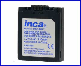 Battery for Panasonic Leica  FZ30 CGA-S006