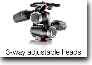 3-Way Adjustable Heads
